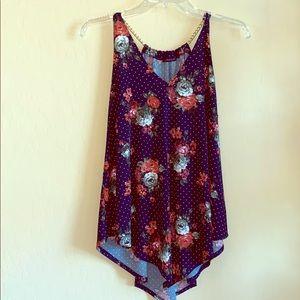 First love | Summer print halter top